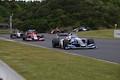 決勝レース: ジェットコースターストレートを駆け下るSFマシン