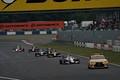 決勝レース: 序盤にセーフティーカーが導入された