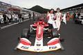 決勝レース: 優勝した山下健太と近藤真彦監督(KONDO RACING)