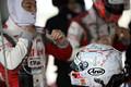 スタート進行: 国本雄資(KONDO RACING)のヘルメット