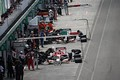 決勝レース: 早くも1周目にピットインしてタイヤ交換