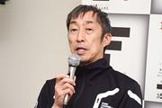 決勝記者会見: 優勝チーム監督・村岡潔氏(DOCOMO TEAM DANDELION RACING)