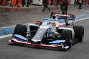 ポールポジションのアレックス・パロウ(TCS NAKAJIMA RACING SF19)