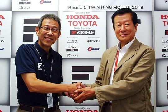 JRPサタデーミーティング: 倉下明氏(株式会社JRP代表取締役社長)と水野雅男氏(全日本F3協会会長)