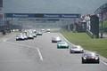 決勝レース: GT300クラス、2周目の1コーナーへ