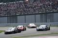 決勝レース: GT500クラス中段の争い