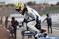 公式予選: ポールポジションを獲得したアレックス・パロウ(TCS NAKAJIMA RACING)