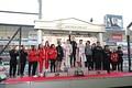 表彰式: チームチャンピオンを獲得したDOCOMO TEAM DANDELION RACING