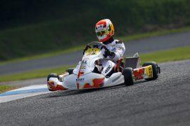 大木一輝選手(KR Racing)