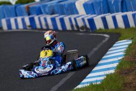第3戦ポールポジション獲得 渡会太一選手(Drago Corse)