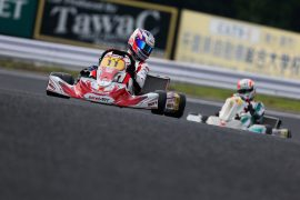 ルーキーの荒尾創大選手(Birel RAGNO Racing)
