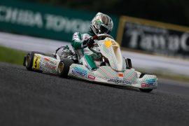 高橋悠之選手(TONYKART RACING TEAM JAPAN)