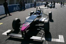 優勝した岡本大地(FTK・レヴレーシング)