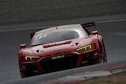 公式テスト岡山1回目: GT300クラス2位のクリストファー・ミース/川端伸太朗組(Hitotsuyama Audi R8 LMS)
