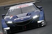 公式テスト岡山2回目: 塚越広大/ベルトラン・バゲット組(KEIHIN NSX-GT)
