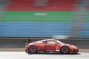 公式テスト岡山2回目: クリストファー・ミース/川端伸太朗組(Hitotsuyama Audi R8 LMS)
