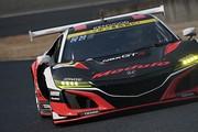 公式テスト岡山3回目: GT300クラス2位の道上龍/ジェイク・パーソンズ組(Modulo KENWOOD NSX GT3)