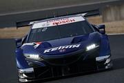 公式テスト岡山3回目: GT500クラス3位の塚越広大/ベルトラン・バゲット組(KEIHIN NSX-GT)