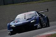 公式テスト岡山3回目: 塚越広大/ベルトラン・バゲット組(KEIHIN NSX-GT)