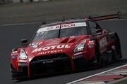 公式テスト岡山4回目: GT500クラス2位の松田次生/ロニー・クインタレッリ組(MOTUL AUTECH GT-R)