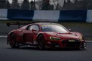 公式テスト岡山4回目: クリストファー・ミース/川端伸太朗組(Hitotsuyama Audi R8 LMS)