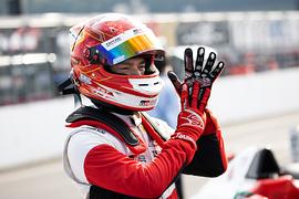 優勝した平良響(TGR-DC Racing School)