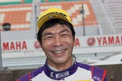 マスタークラスで優勝した今田信宏(JMS RACING)