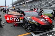 GT300クラス決勝3位の高木真一/大湯都史樹組(ARTA NSX GT3)