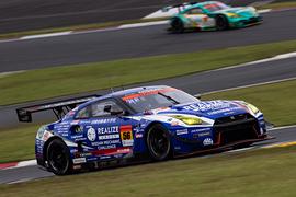 GT300クラス優勝は藤波清斗/ジョアオ・パオロ・デ・オリベイラ組(リアライズ 日産自動車大学校GT-R)