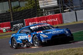 GT500クラス決勝2位は佐々木大樹/平峰一貴組(カルソニックIMPUL GT-R)