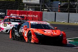 GT500クラス決勝3位は野尻智紀/福住仁嶺組(ARTA NSX-GT)