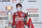 決勝3位の名取鉄平(TODA RACING)