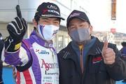 マスタークラスで優勝した今田信宏とDRAGON