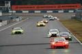 グループ1決勝: 序盤トップに立った上村優太(Porsche Center Okazaki GT3R)