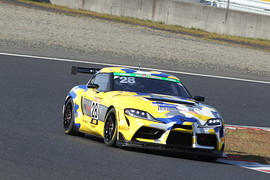 ST-1クラスポールポジションは蒲生尚弥/豊田大輔/小倉康宏/河野駿佑組(ROOKIE Racing GR SUPRA)