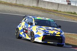 ST-2クラスポールポジションは井口卓人/佐々木雅弘/MORIZO組(ROOKIE Racing GR YARIS)
