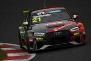 予選2位の篠原拓朗(Audi Team Hitotsuyama)