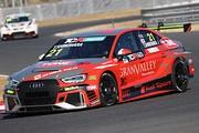 優勝は篠原拓朗(Audi Team Hitotsuyama)