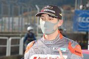 優勝した篠原拓朗(Audi Team Hitotsuyama)