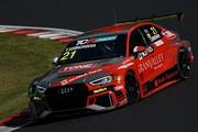 スタートでトップに立った篠原拓朗(Audi Team Hitotsuyama)
