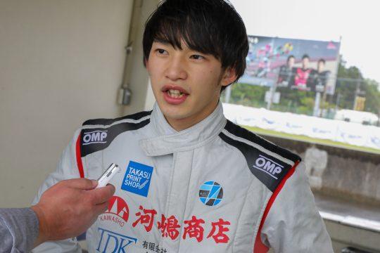 決勝4位の澤井良太朗(ELEVレーシングドリームED)