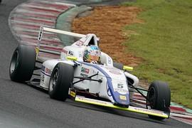 第8戦ポールポジション、第9戦予選4位の小出峻(HFDP/SRS/コチラレーシング)