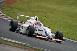 第8戦予選3位、第9戦ポールポジションの木村偉織(HFDP/SRS/コチラレーシング)