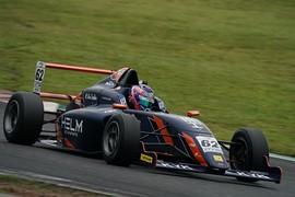 第8戦予選5位、第9戦予選3位の松澤亮佑(HELM MOTORSPORTS F110)