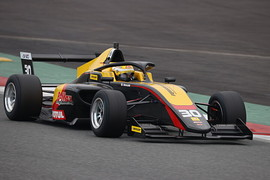 予選8位でマスタークラス予選3位のDRAGON(B-MAX ENGINEERING FRJ)