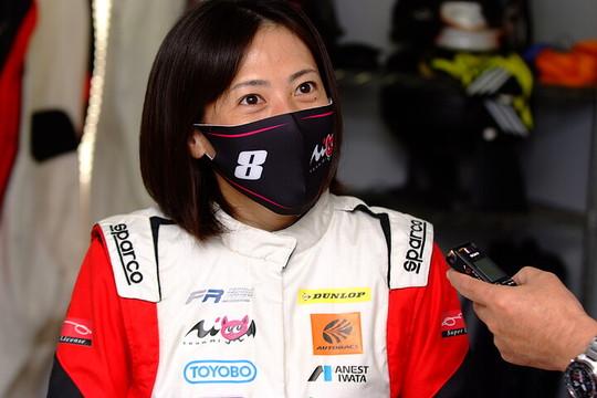 優勝した三浦愛(Team Super License)