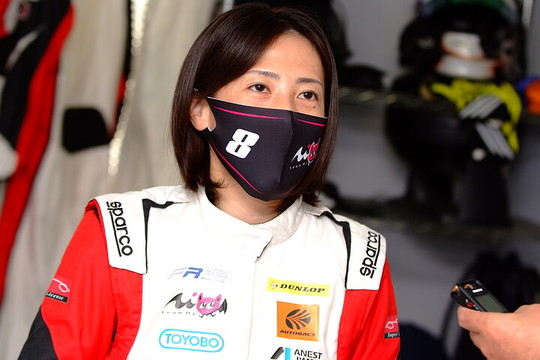 決勝3位の三浦愛(Team Super License)