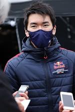 岡山公式テスト2回目: GT500クラストップタイムの笹原右京(TEAM Red Bull MUGEN)