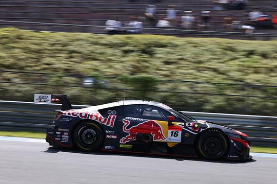 公式練習: GT500クラス3位の笹原右京/大湯都史樹組(16号車・Red Bull MOTUL MUGEN NSX GT)