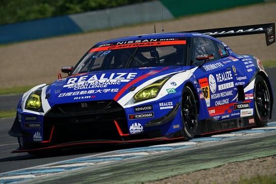 GT300クラス予選3位は藤波清斗/ジョアオ・パオロ・デ・オリベイラ組(56号車・リアライズ 日産自動車大学校GT-R)